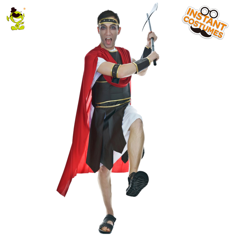 Roman Soldier Cosplay Men Roman Warrior Costume Centurion Gladiator Trojan Fancy Dress Outfit for Party Carnival Halloween-in Holidays Costumes from Novelty ...  sc 1 st  AliExpress.com & Roman Soldier Cosplay Men Roman Warrior Costume Centurion Gladiator ...