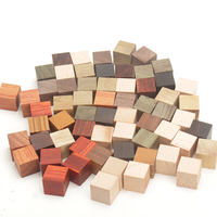 50pcs lot wooden blocks DIY wood 2cm cubes square blocks solid wood blocks craft wood blanks