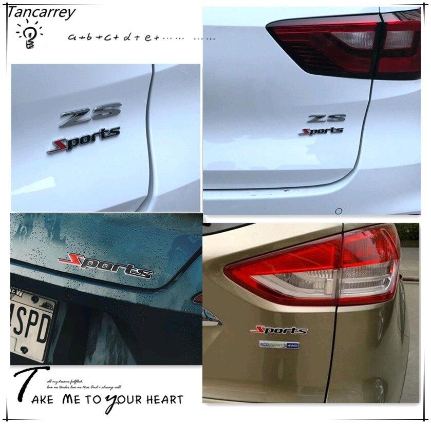 Car styling 3D métal Sport autocollants pour vw passat b6 alfa romeo 159  renault kadjar citroen