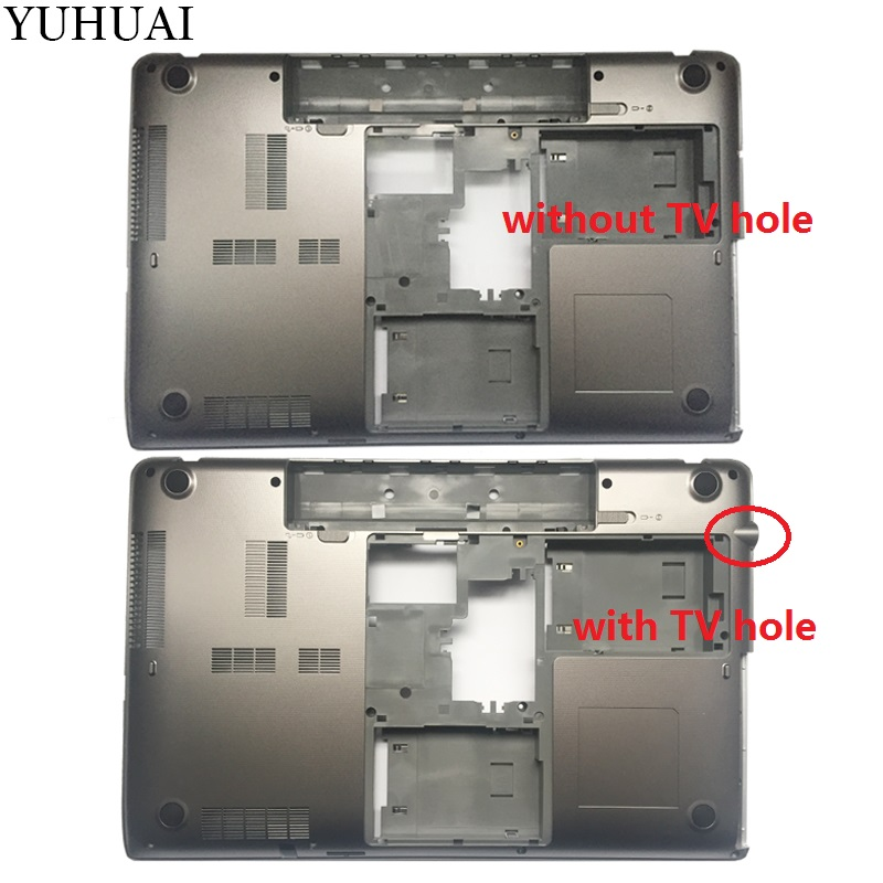 NEW Laptop Bottom Case For TOSHIBA P870 P875 Laptop Bottom Base Case Cover V000280670/V000280310 gzeele new laptop bottom base case cover for hp for elitebook 8560w 8570w base chassis d case shell lower case 652649 001 black