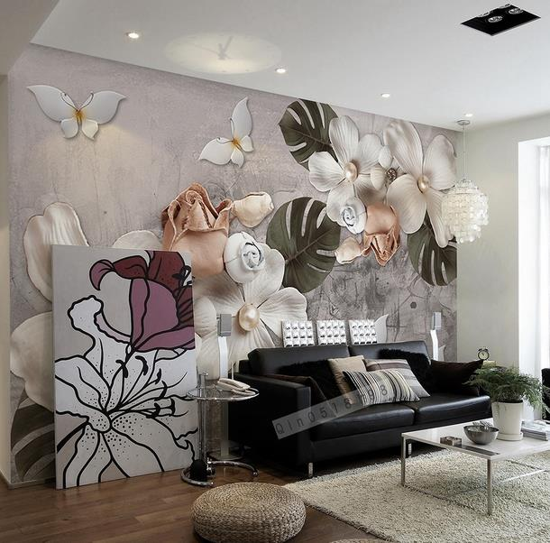 Modern Behang Woonkamer. Trendy Full Size Of Modern Interieur Behang ...