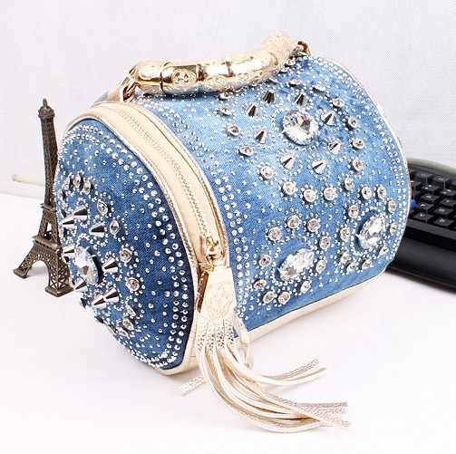Multi function designer rhinestone bags luxury women handbags delicate  diamond women messenger bag travel bags tassel 89eeac1f5411