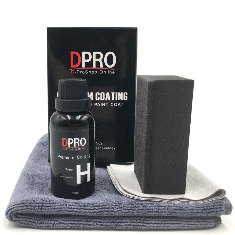 Revestimento de vidro hidrofóbico super líquido anti-risco do cuidado da pintura do carro da cerâmica nano impermeável do revestimento de vidro cerâmico do carro de 9 h
