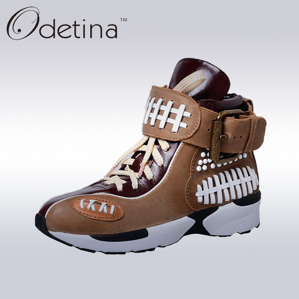 Odetina Fashion Comfortable Runners Trainers Women Casual Shoes Platform Creppers Zip Up Espadrilles Zapatillas Deportivas