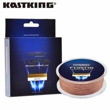 KastKing Fortis Series 550M PE Braided Fishing Line for Winter Ice Fishing 4 strands 8-80LB Multifilament Braid Line