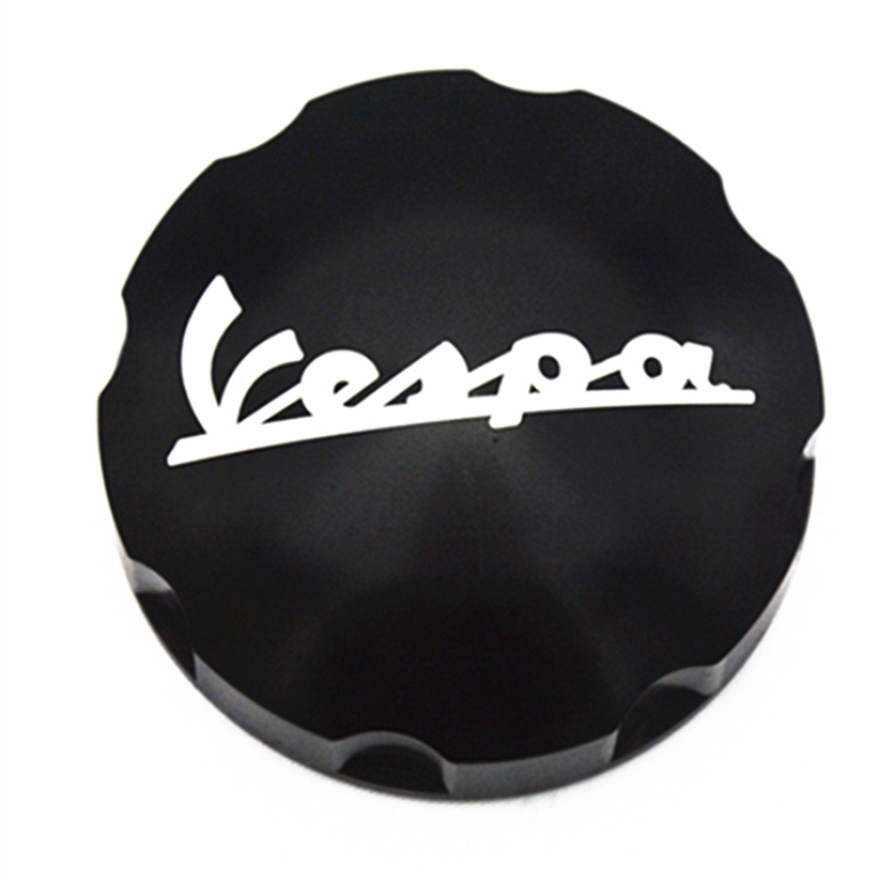 MOTO4U Gas Fuel Tank Filler Oil Cap Cover for Piaggio Scooter VESPA GTS GTV LX Primavera Sprint 125 150 250 300 300ie honglue motorcycle scooter fuel tank plastic black paint cover oil tank cover for honda dio scooter af27 af28 fuel tank cap