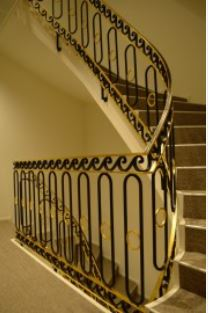 Wrought Iron Railing Mounting Brackets Front Porch Iron Railing   Exterior Wrought Iron Railing Cost   Iron Stair Railings   Metal   Staircase   Stainless Steel   Deck Railing