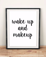 New arrival Wake Up and Make Quotes Canvas Art print wall Posters Wall Oil Paintings for Living Room  NO FRAME