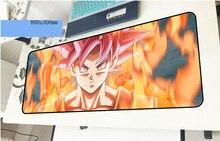 Dragon Ball геймерский коврик для мыши Новое поступление 800x300x3 мм игровой коврик для мыши толстый ноутбук ПК Аксессуары ноутбук padmouse эргономичный коврик