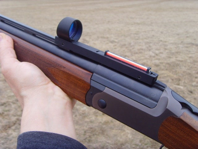 Shooin SFD me ligero caza rojo fibra óptica 1x punto rojo holográfica vista alcance ajuste escopeta costilla carril R9192