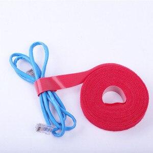 Image 3 - 5 M 10 M Kabel Veranstalter Draht Wickler Clip Kopfhörer Halter Maus Kabel Protector HDMI Kabel Management Für iPhone Samsung USB Kabel