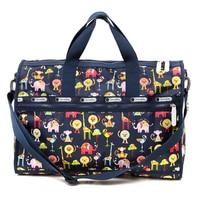 2018 New Arrivals Folding Travel Bag Large Capacity Waterproof Printing Bags Portable Women's Tote Bag Travel Bags Women