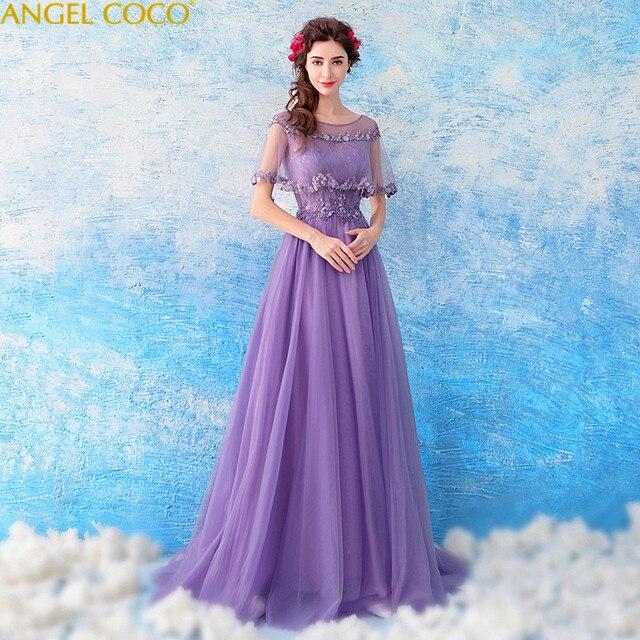 6385e3cd20e04 Romantic Purple Pregnant Woman Evening Dress Maternity Clothing V Neck  Applique Beaded Sequins Maternity Party Gowns Arabic