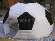 High quality waterproof outdoor sports inflatable football dome,inflatable soccer dome for sale