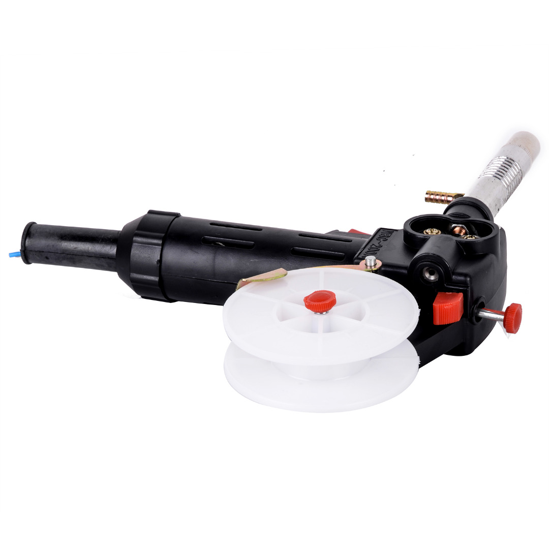 Mayitr 1pc MIG Spool Gun Push Pull Feeder Aluminum Steel Welding Torch without Cable DC 24V Motor free shipping new products multifunctional bga reballing station tool with handgrip reballing kit stencil holder jig 90mm 90mm