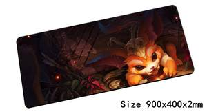 Mouse-Pad Keyboard Notbook Gamer Computer Gaming 900x400x2mm-Pad Lol Link Gnar Missing