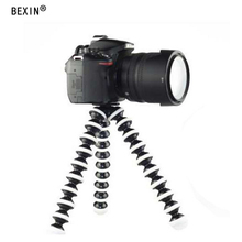 Bexin S/M/L Universal Octopus Light weight Mini Tripod Supports Stand for Phone DLSR Camera