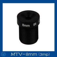 3mp 8mm  cctv board camera lens Board Fixed F2.4 Lens .MTV-8mm(3mp)