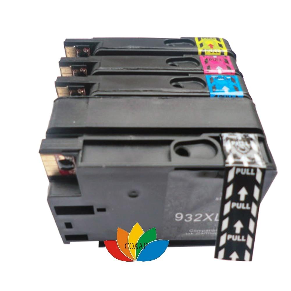 4x Uyğun hp932XL hp933XL mürəkkəb kartric HP OfficeJet Pro 6100 - Ofis elektronikası - Fotoqrafiya 2