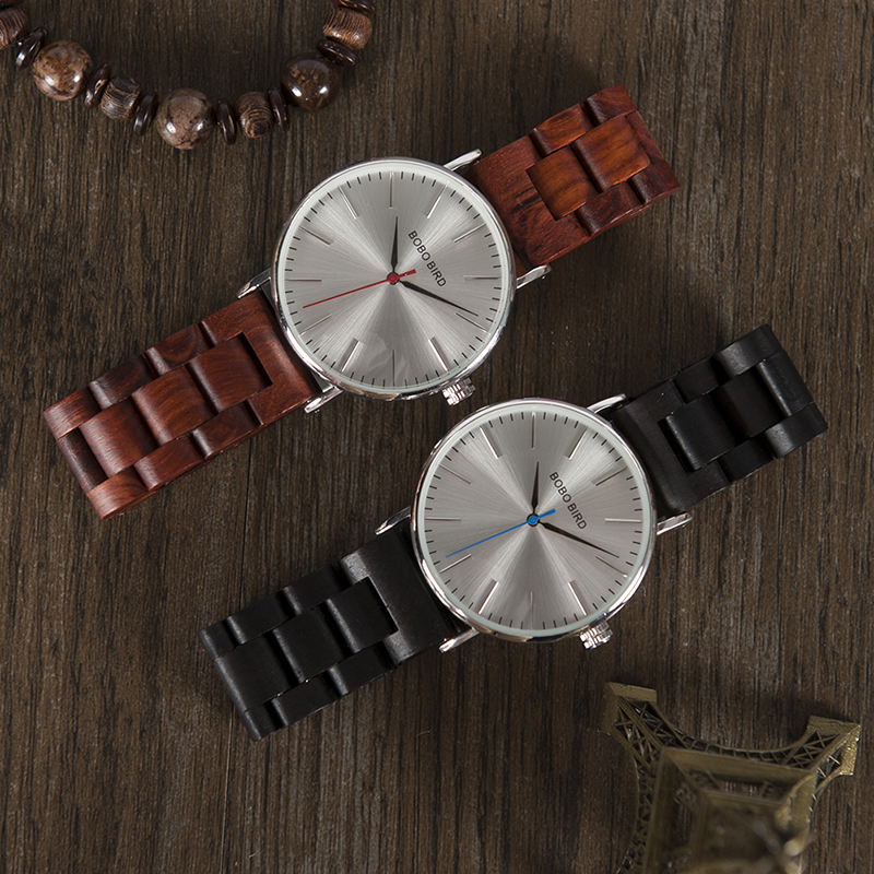BOBO BIRD Round Vintage Wood Band Men Watch With Japanese movement Quartz Wristwatches Wooden watches Male Relogio bobo bird monkey watch wooden relojes quartz men watches casual wooden color leather strap watch wood male wristwatch for gift