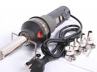 220V LCD Adjustable Electronic Heat Hot Air Gun Desoldering Soldering Station IC SMD BGA Rework 4 Nozzle 8018LCD