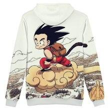 Fashion Dragon Ball Z Themed Cotton Men's Hoodie