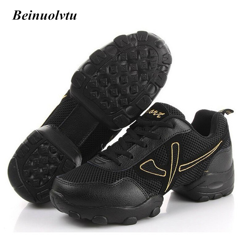 Autumn Breathable Mesh font b Dance b font Sneakers for Men Sport font b Shoes b
