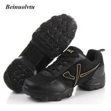 Automne Respirant Maille De Danse Sneakers pour Hommes Sport Chaussures Danse Jazz Chaussures Hommes 39-44