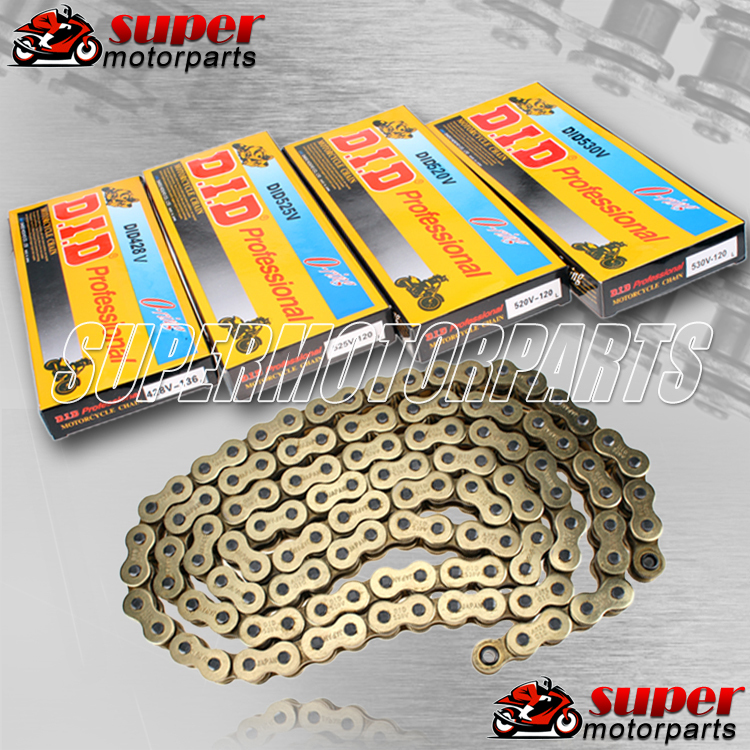 Aftermarket 520 O Ring Chain 120 Link for Dirt Bike ATV Quad MX Motocross Enduro Supermoto Motard Racing Off Road Motorcycle new gas fuel tank for honda crf50 xr50 70 90 110cc 12 14 dirt pit bike motocross enduro motorcycle off road racing supermoto