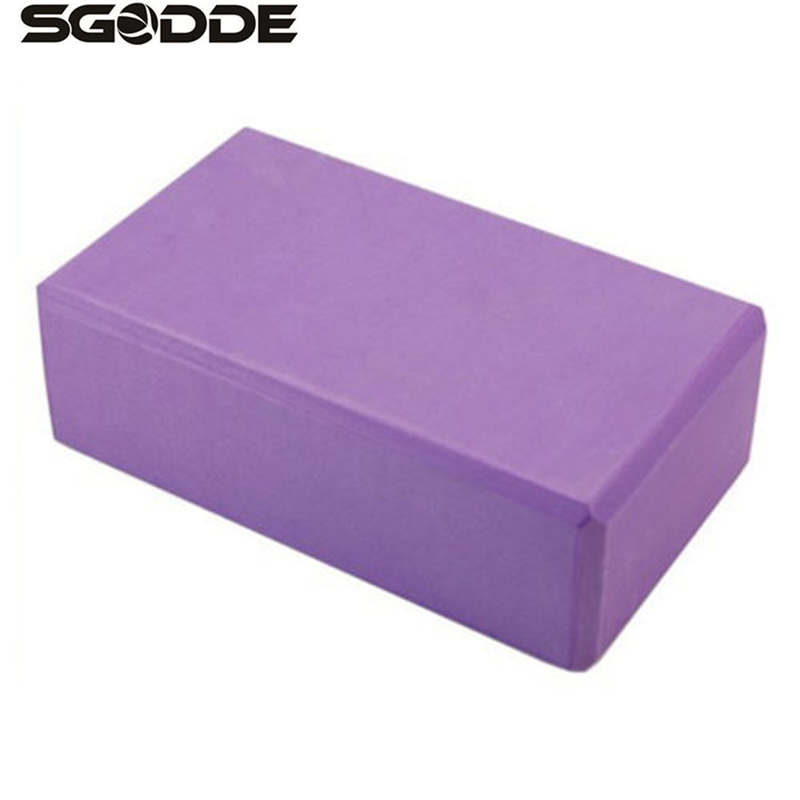 New yoga props foaming foam block brick home exercise gym for Foam block homes