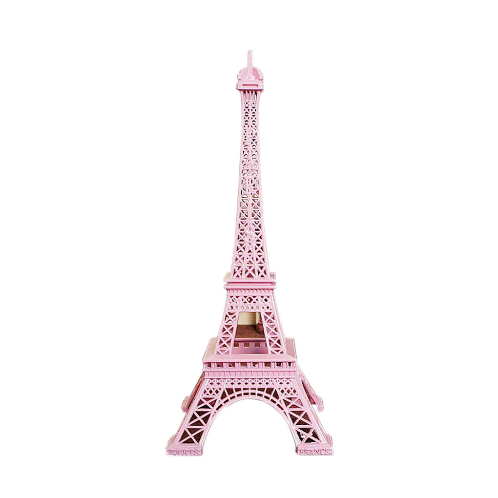 Colorful France Paris Eiffel Tower Model Home Decoration Metal Model 18/25cm