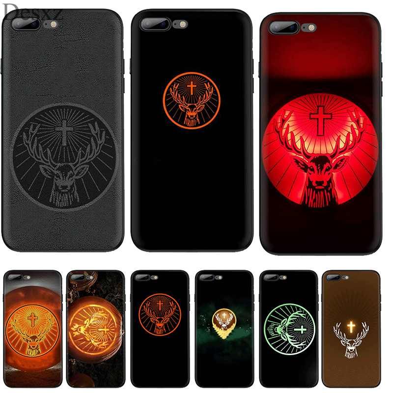 Cell Phone Case Silicone TPU for iPhone 7 8 6 6s Plus iPhone 11 Pro X XS Max XR 5 5s SE Cover Jagermeister Logo Beer Shell