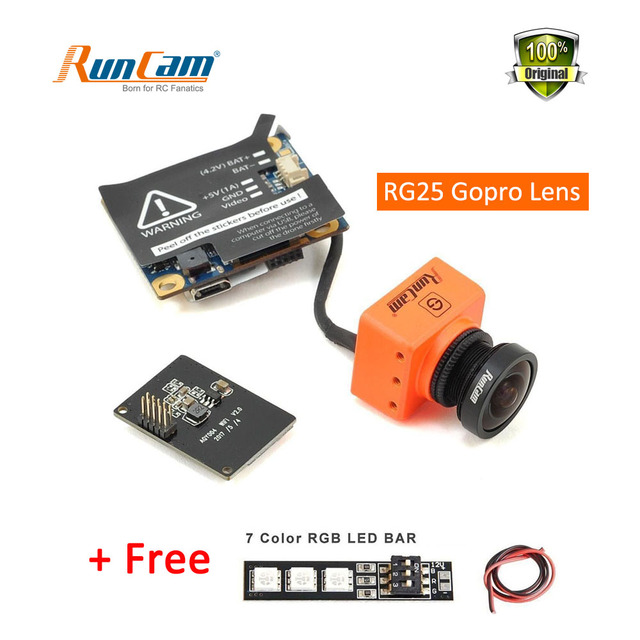 US $74 99 |Runcam Split WDR FPV Camera 2 5mm RC25G 1080P 60fps HD Recorder  WiFi Optional NTSC PAL Low Latency TV out For RC Quadrocopter-in Parts &