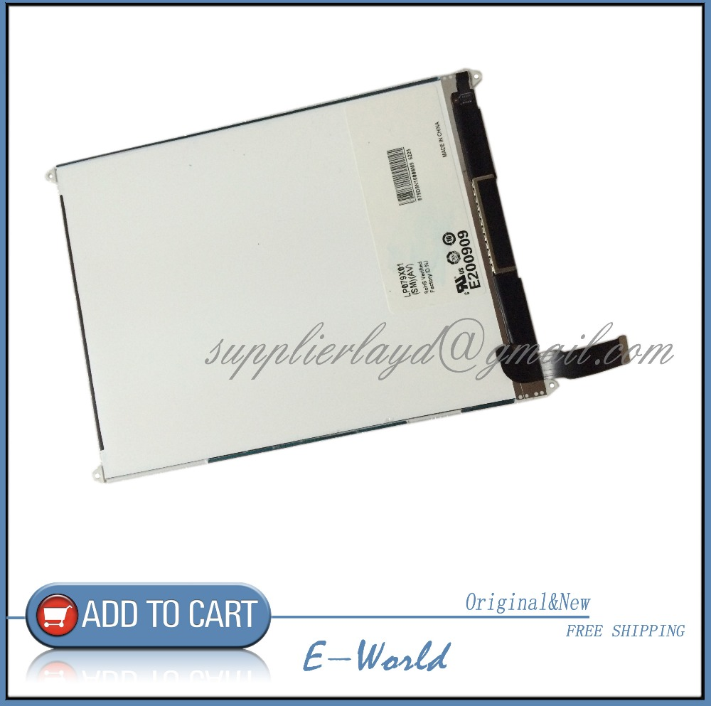 ФОТО Original and New 7.9inch LCD screen For i pad mini LP079X01(SM)(AV) LP079X01-SMAV LP079X01 LCD Screen Free Shipping