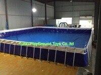 metal frame pool set Aquarium swimming pool inflatable pool water tank piscal