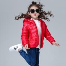 brand 90% duck Down feather Ultra light children Jackets & Coats Boy Girl autumn Hooded Coat parka Outerwear kids winter jacket
