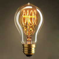Lightinbox Free Shipping Fixtures Glass LED Edison Bulb Pendant Lamps Vintage Retro E27 Incandescent Light Lamp Bulb
