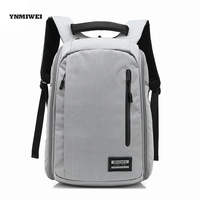 YNMIWEI Backpack Laptop Bag Polyester For Macbook 15 Inches For HP Dell Samsung Travel Laptop Notebook