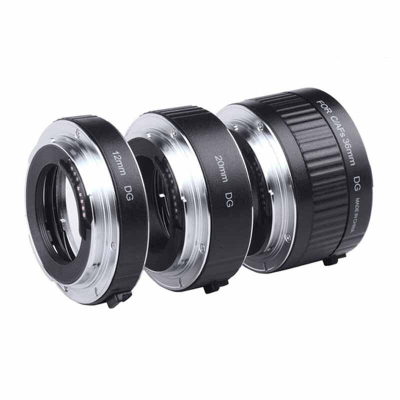 Viltrox adaptateur d'objectif de Tube d'extension AF à mise au point automatique en métal pour Canon EOS 750D 700D 650D 70D 60D 5D II