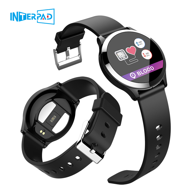 2019 Interpad New Android iOS Smart Watch ECG PPG Blood Pressure Heart Rate Monitor Smartwatch For