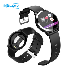 2019 interpad 새로운 안드로이드 ios 스마트 시계 ecg ppg 혈압 심장 박동 모니터 smartwatch for huawei lenovo xiaomi iphone