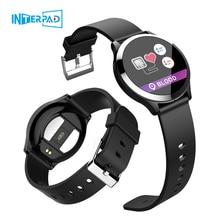 2019 interpad novo android ios relógio inteligente ecg ppg pressão arterial monitor de freqüência cardíaca smartwatch para huawei lenovo xiaomi iphone