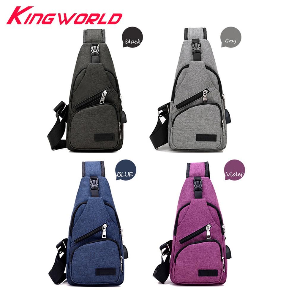 Mochila Crossbody Travel Bag y Via Side USB Interfaz de carga para - Juegos y accesorios