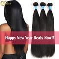 Brazilian Virgin Hair Straight 3 Bundle Deals 7A Unprocessed Brazilian Virgin Hair Weave Bundles100% Human Hair Extensions Sale