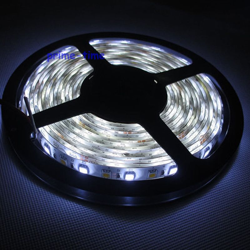 5M 5050 300leds Dual White warm white + cool white Waterproof CCT LED Strip Light Color Temperature Ajustable DC12V