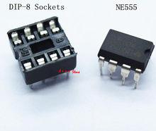 20 штук (каждого по 10) NE555 IC 555 и 8-контактным гнезда DIP