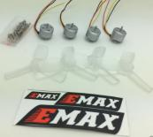 EMAX RS1104 Brushless Power Set 4 RS1104 Motor +2 pairs of TS2345 trilobites original emax 4pcs rs1104 5250kv
