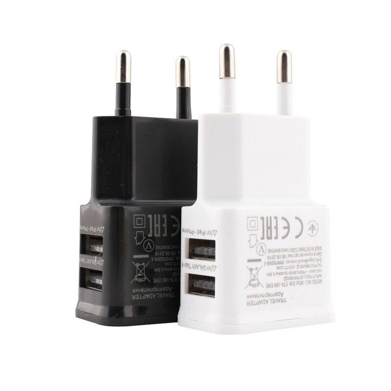 5В 2А ЕС вилка адаптер USB настенное зарядное устройство для Samsung iphone Xiaomi Мобильный телефон зарядное устройство для ipad Универсальное зарядное ...