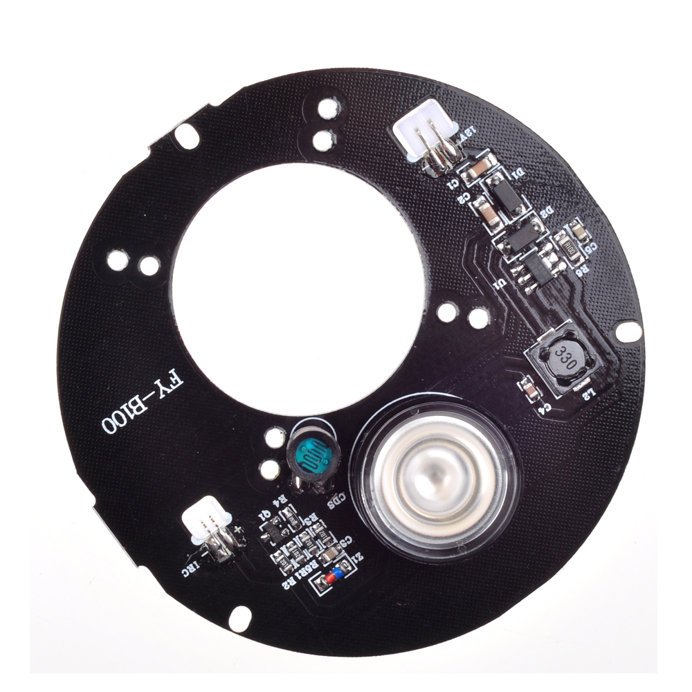 Wholesale Spot Light Infrared 1x IR LED board good  night vision  for CCTV cameras(78mm diameter) abc board 5wwm 78