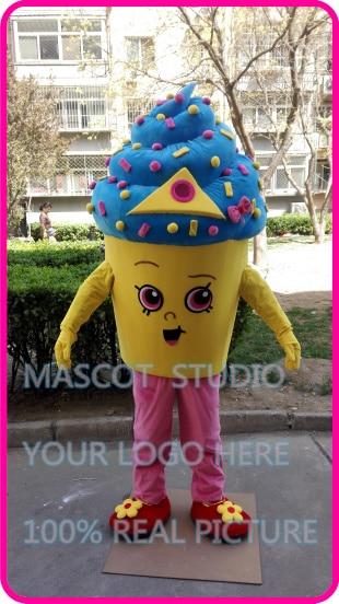icecream cupcake mascot costume custom fancy costume anime cosplay kits mascotte cartoon fancy dress
